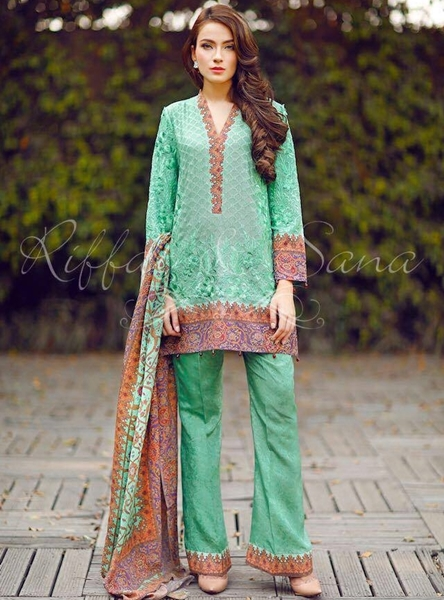 Sana Salman Exclusive Casual Dresses Collection 2017