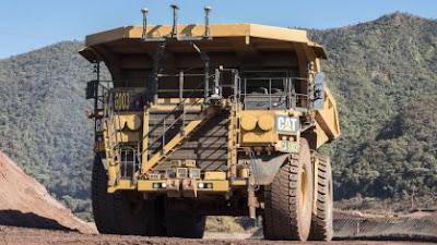 Caminhões autônomos começam a operar em mina da Vale