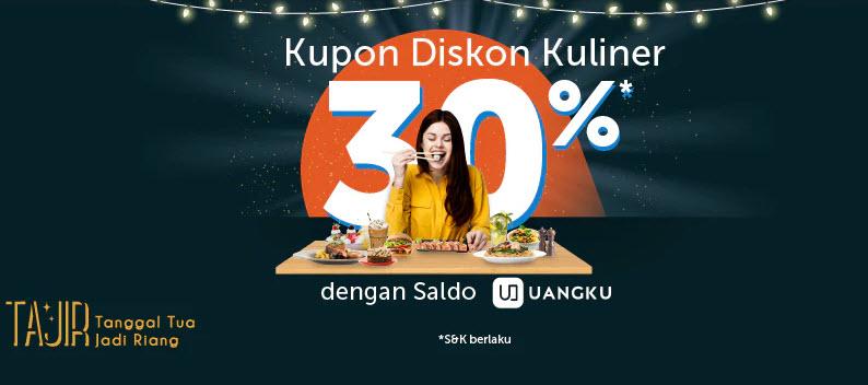 #Traveloka - Promo Voucher Diskon Kuliner Tanggal Tua Jadi Riang