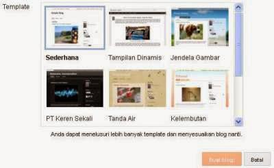 cara membuat blog sendiri ~ cara bikin blog