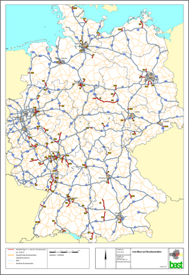 Road Pricing Germanys Proposed Introduction Of Road User - Germany map autobahn