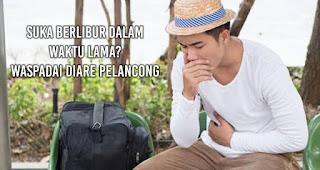 Suka berlibur dalam waktu lama? Waspadai diare pelancong