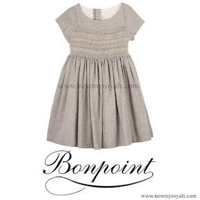 Princess Leonore Style Bonpoint cotton smocked dress