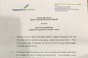 Volcanic Ash Mengarah Ke Lombok, LIA Kembali Di Tutup Sementara