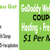 GODADDY HOSTING COUPON - GET HOSTING PLUS FREE DOMAIN IN JUST $1 PER MONTH
