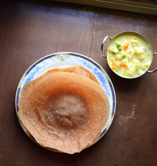Red Rice Appam | Healthy South Indian Breakfast
