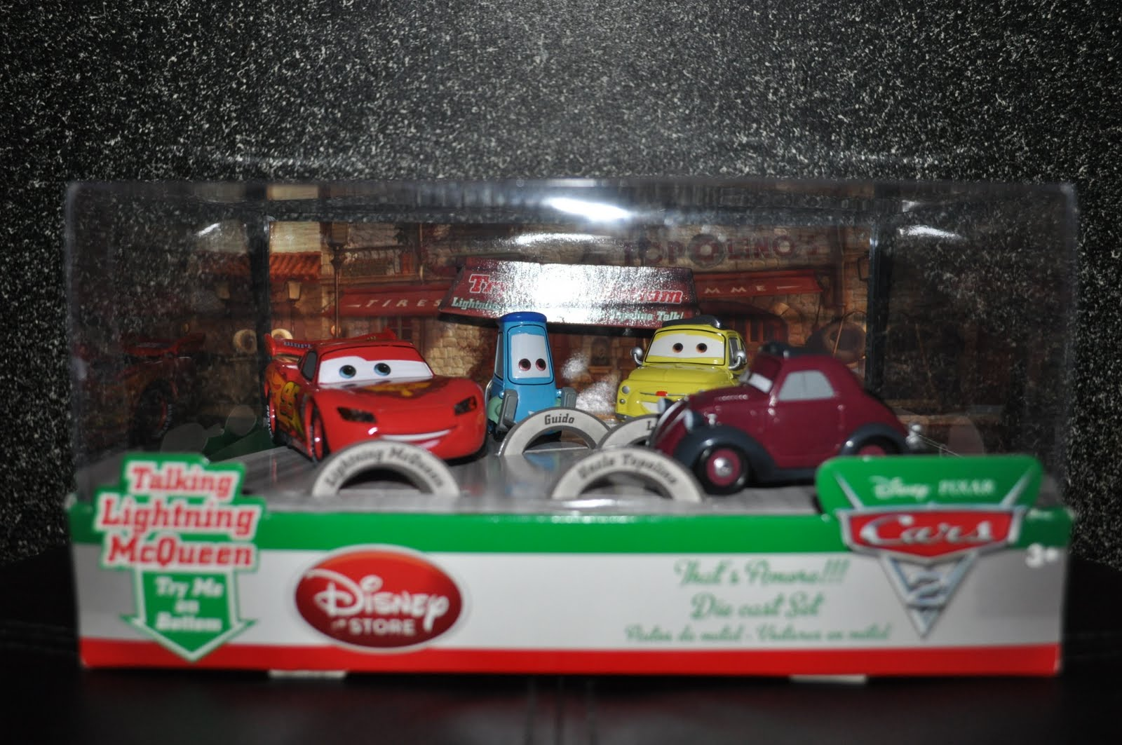 Disney Pixar Fanatics Disney Store Cars 2 Die Cast Car Sets