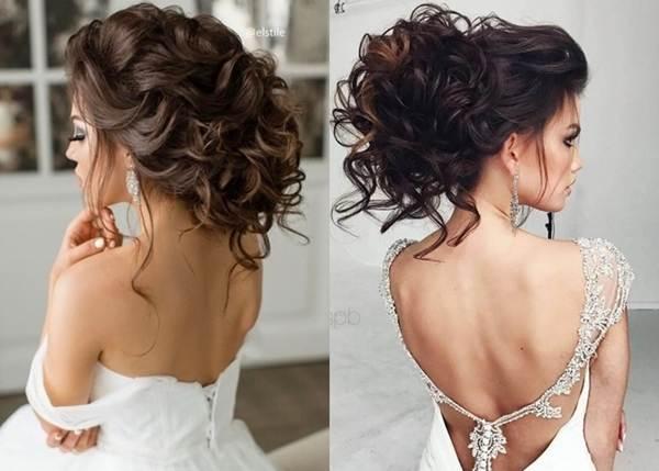 Trendige Haarfarben für Bräute 2018