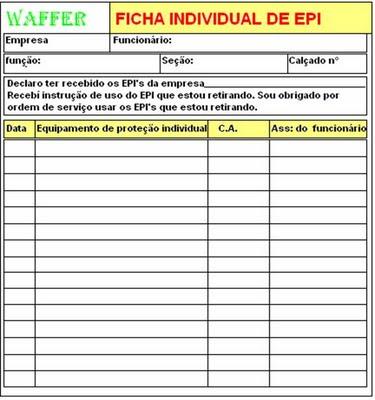 9131d6f594275 Ficha de EPI