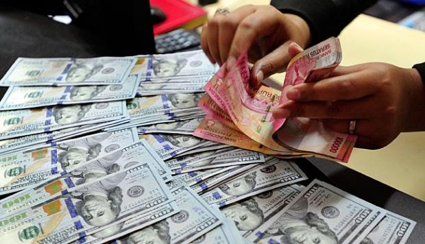 Nilai Rupiah Ditukarkan Antar Bank di Jakarta Senin Rp 15.197 per dolar AS
