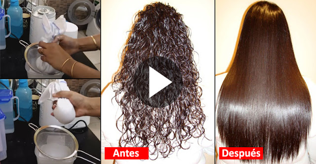 How To Use Natural Ingredients To Straight Hair At Home