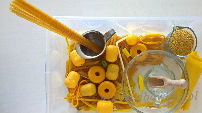 poznaj kolor żółty