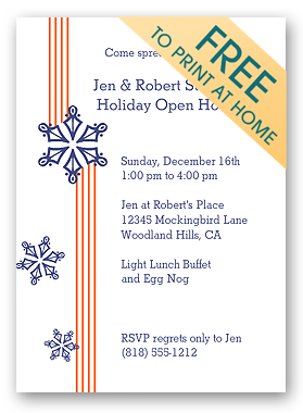 free christmas party invitation templates downloads
