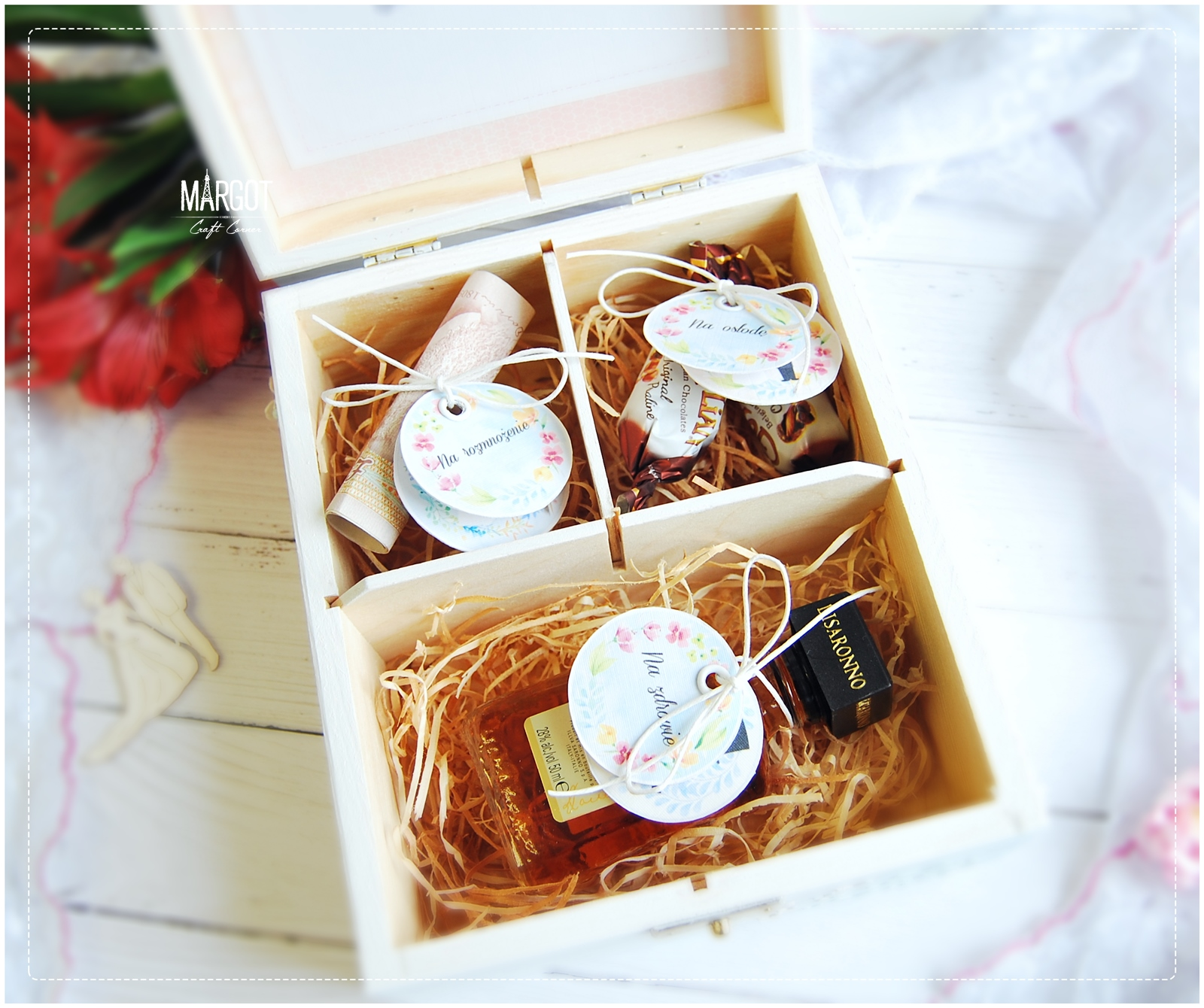 Craft Wedding Gifts: Wild Orchid Crafts: Wedding Anniversary Gift Box
