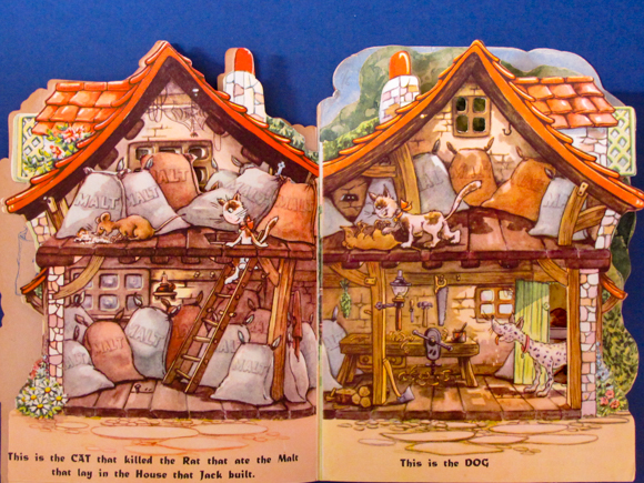 Kiddie Kut Books Molly B. Thomson The House that Jack Built