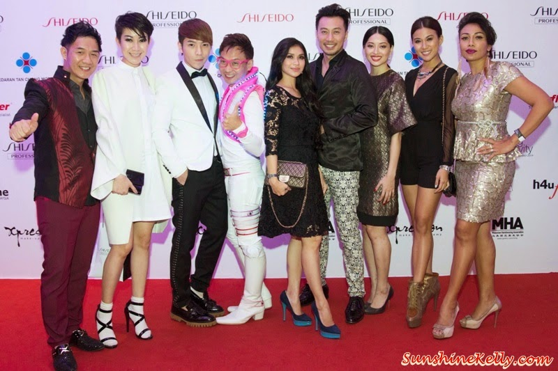 celebrities, malaysia top celebrities, hair show celebrities, Shiseido Professional Beauty Innovator Award 2014, Shiseido Professional, Beauty Innovator Award 2014, Nexus, Bangsar South, Kuala Lumpur
