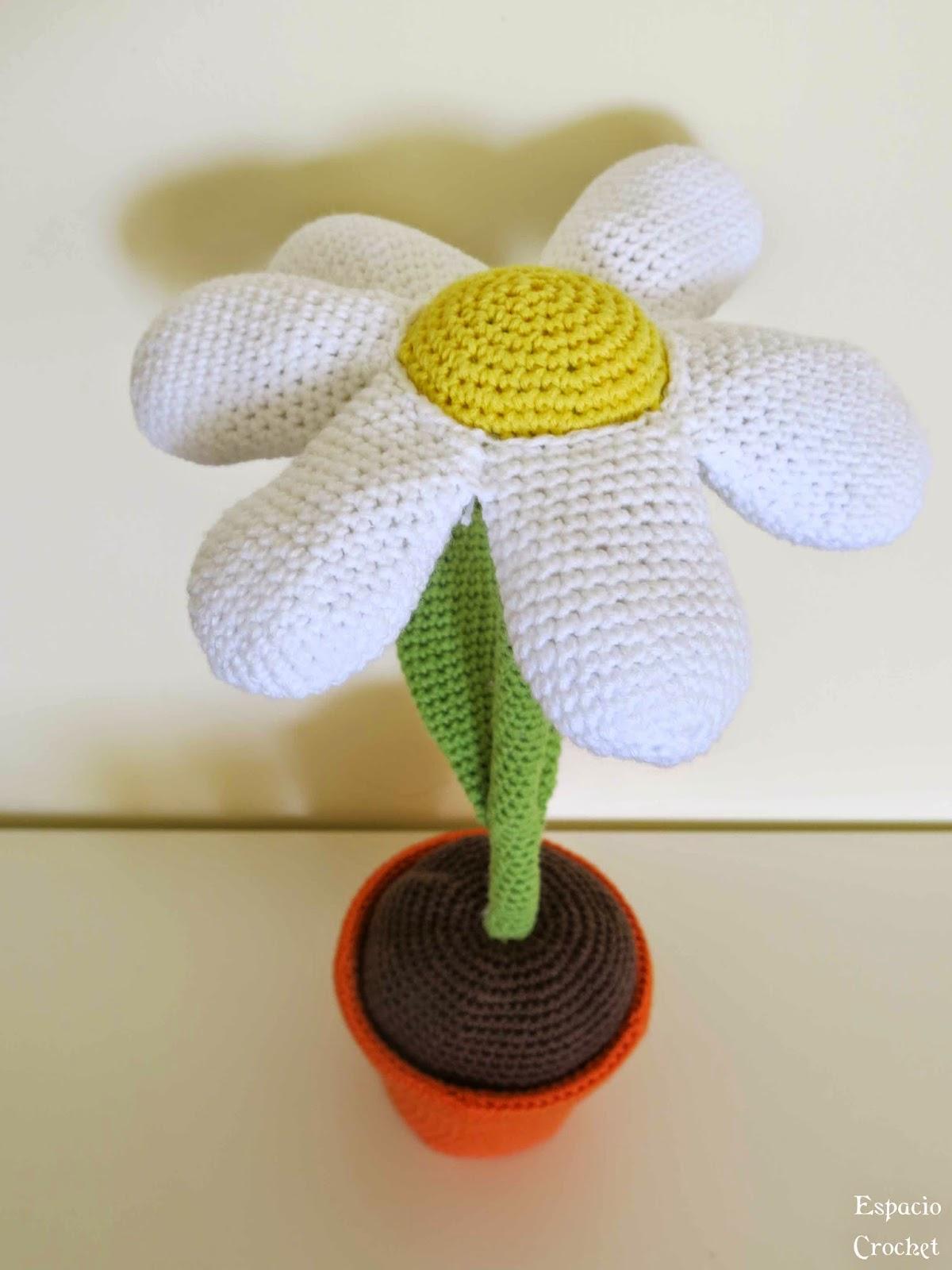 Margarita de crochet