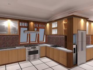 KItchen Set Minimalis - Mozaik Furniture
