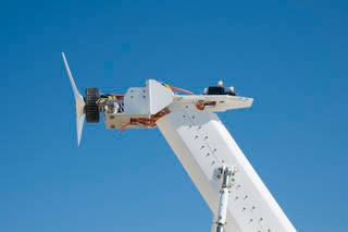 Banc de proves per provar motors d'avió elèctrics