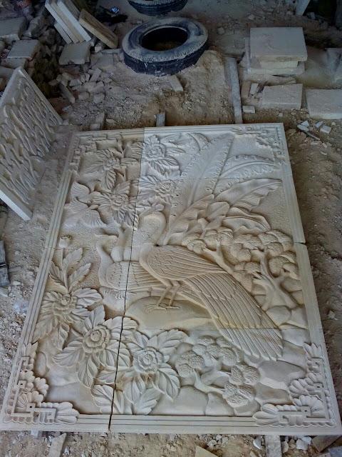 RELIEF BATU ALAM, Relief Batu Paras Jogja