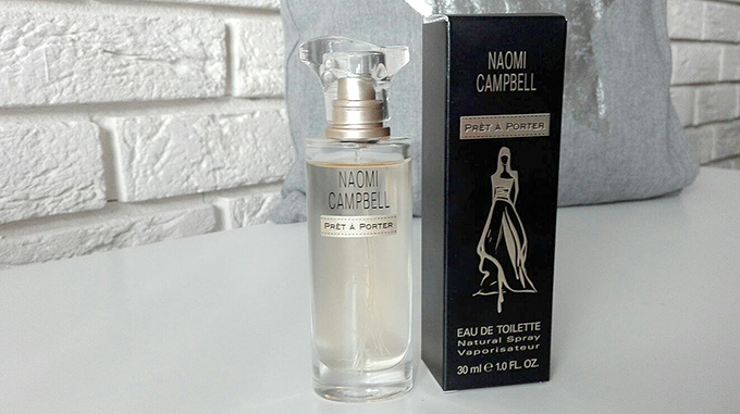 perfumy, naomi campbell, pret a porter