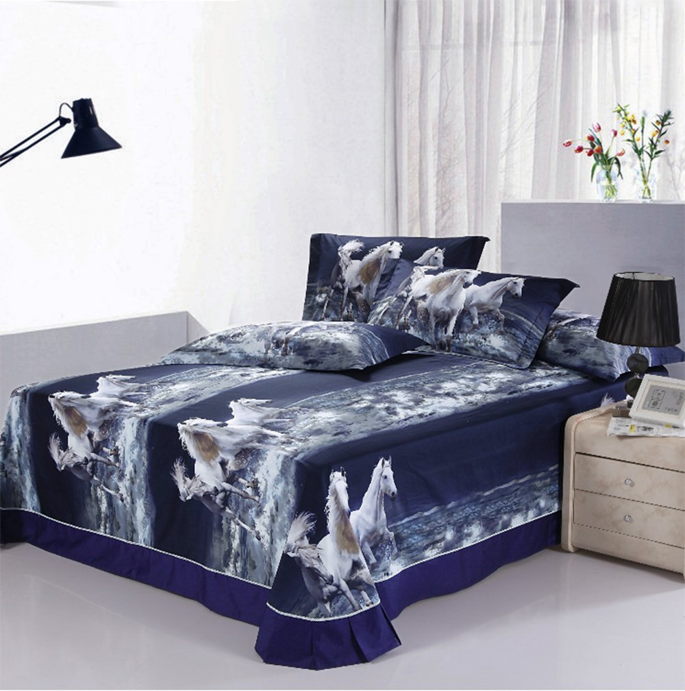Horse Themed Comforter Sets for Girls and Teens