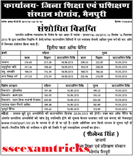 Mainpuri 2nd Cut off (Revised)