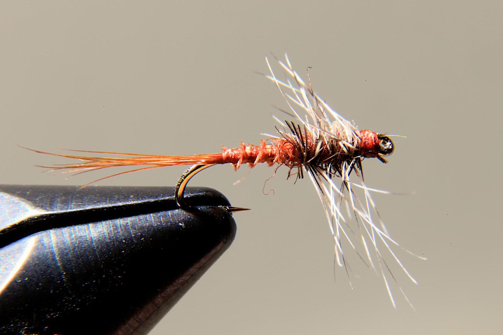 Rusty Spinner | Fly Tying II