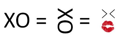 que es XOXO o que significa XOXO