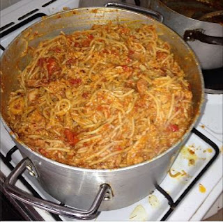 Unemployed Man Arrested For Stealing Spaghetti At Ajun Plaza In Badagry