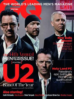 U2 revista GQ Octubre 2011