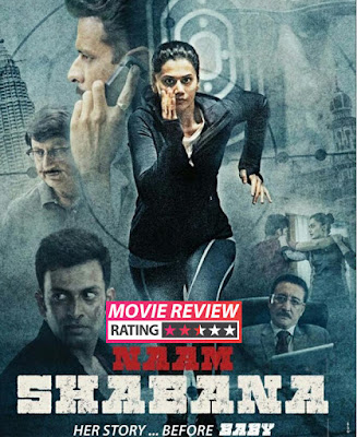 Naam Shabana 2017 Hindi DVDRip 200mb 480p HEVC x265