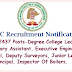 TSPSC Notification 2017 – Apply 2437 Posts-Junior Lecturers, Degree College Lecture, Veterinary Assistant, Executive Engineers, Principal, Deputy Surveyors,  Principal, Inspector Of Boilers.