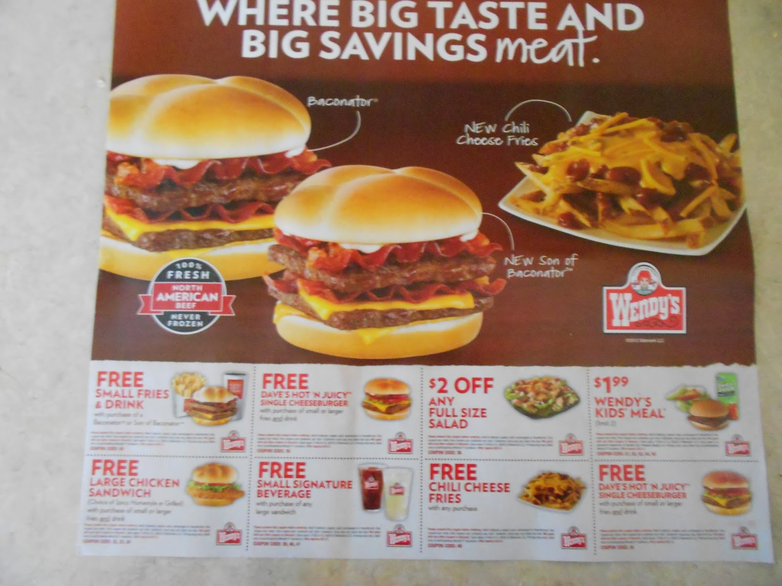 graphic about Zaxby's Coupons Printable referred to as Wendys printable coupon codes august 2018 / Qfc wine offers