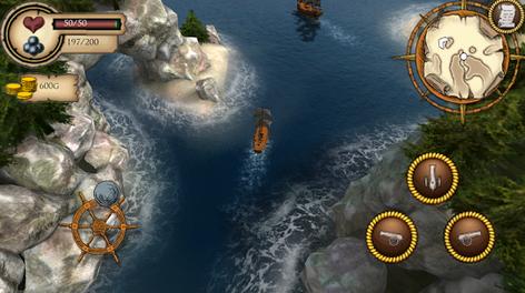 تحميل لعبة قراصنة  البحرPirate Dawn للاندرويد مجانا