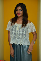 Eesha in a cute deep neck top and Skirt at at Big FM 119.JPG