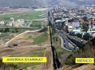 Amerika Syarikat & Mexico World's Amazing Border Lines