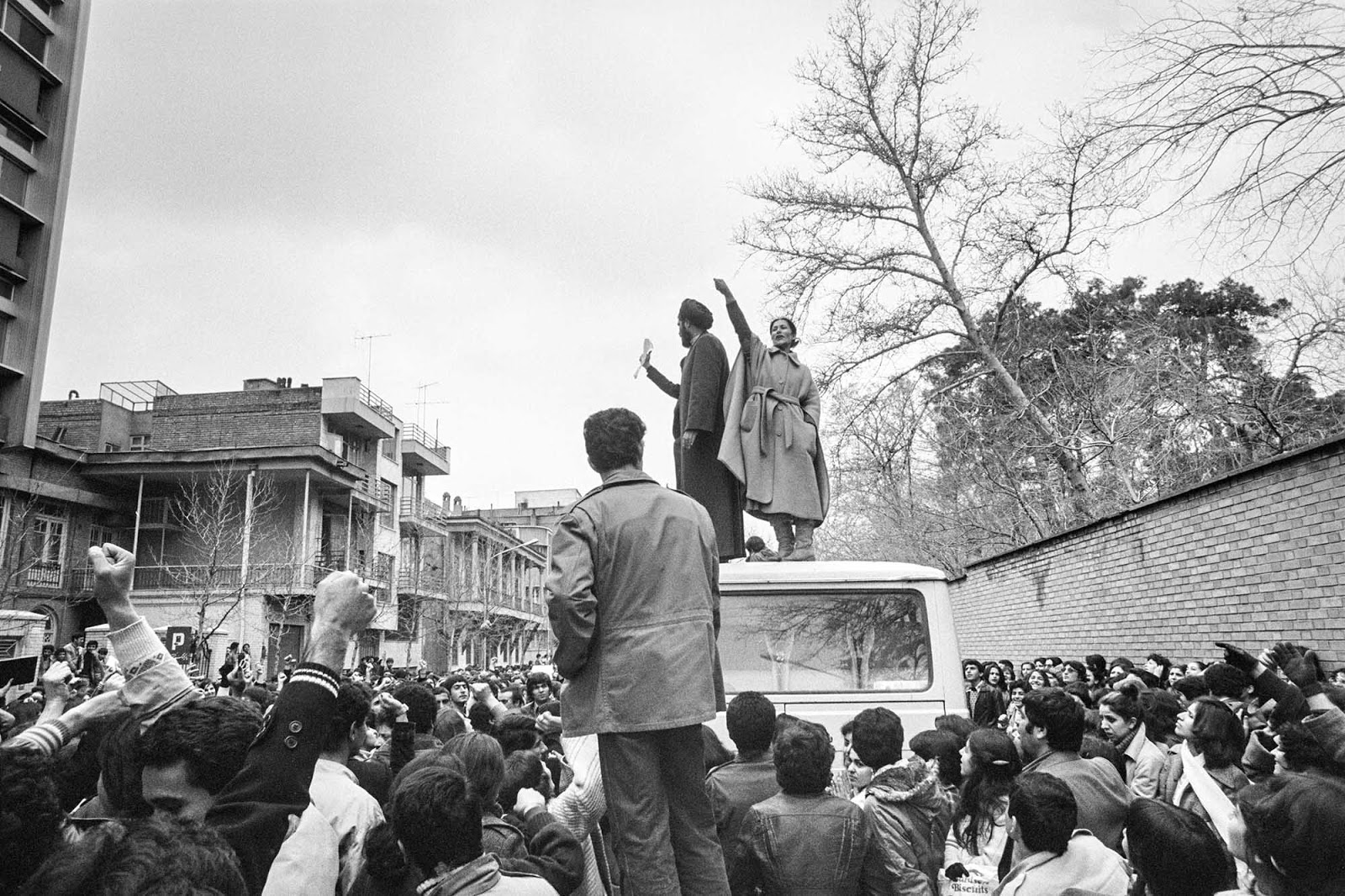 "The spontaneous uprising of both women and men on March 8, 1979, was an effort ""to protect the achievements of women's right in the [preceding] 70 years of Iranian history"