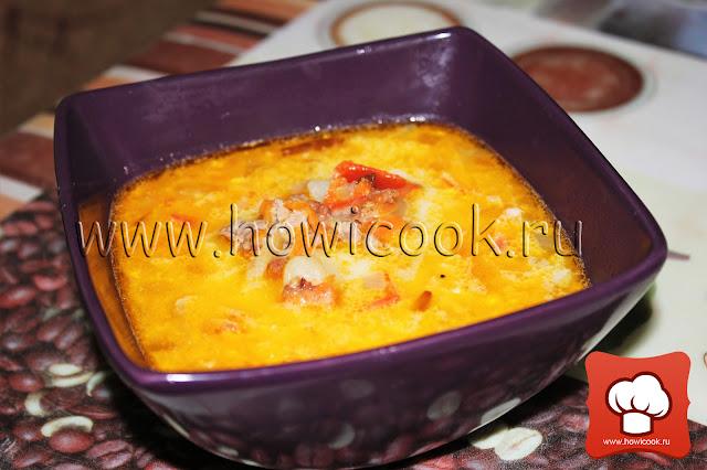 рецепт вкусного сырного супа
