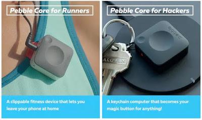 Pebble Core para corredores y para Hackers.