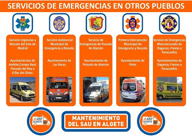 Servicios de Emergencias en otros pueblos