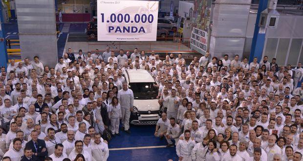 Ένα εκατομμύριο Fiat Panda