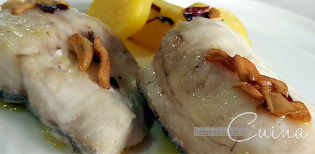 Lluç Donostiarra, Peix, l'Essència de la cuina, Blog de cuina de la Sònia, Merluza Donostiarra, Pescado, cocina facil