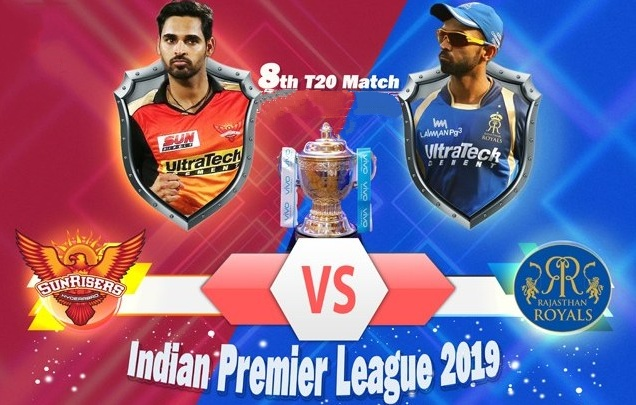 IPL 2019: SRH will host Rajasthan on 29th march, See the Head to head stats and Probable XI