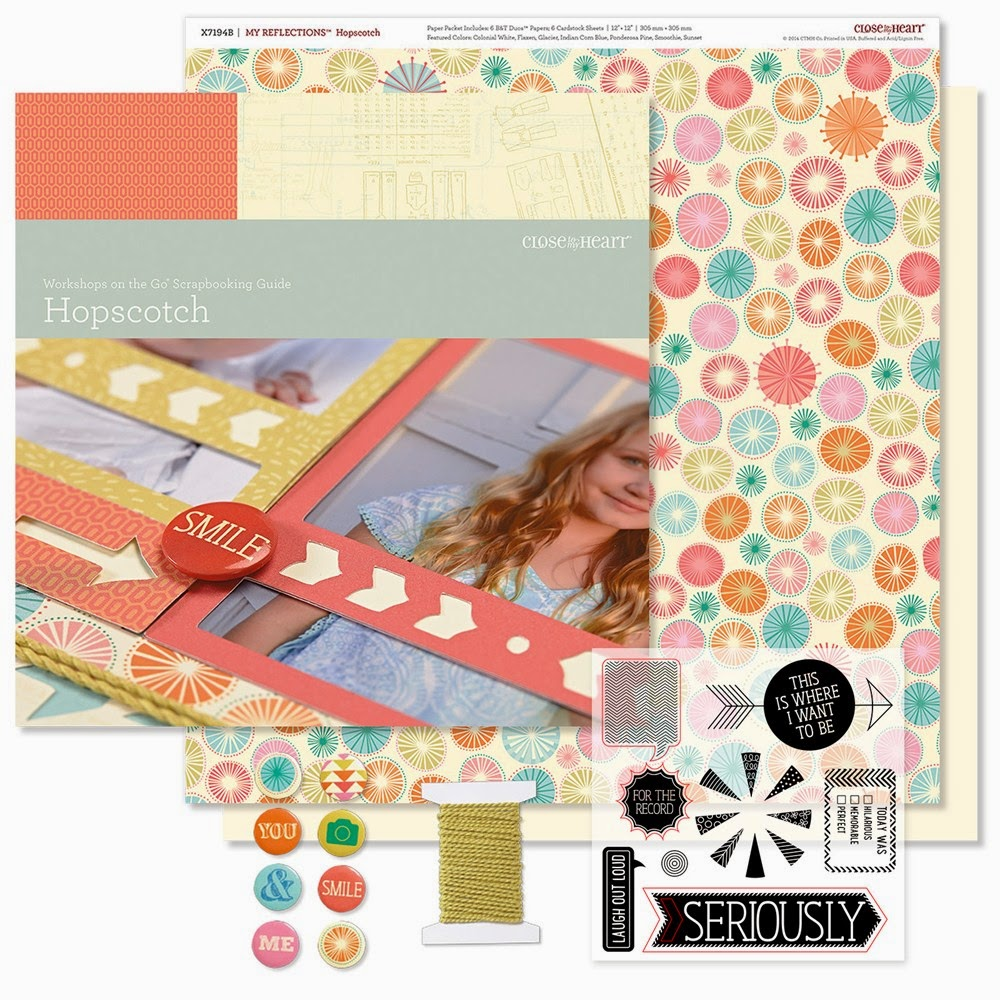 Workshops on the Go® Hopscotch Scrapbooking Kit  Item Number: G1091
