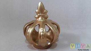 Locação Coroa Cerâmica Dourada Porto Alegre