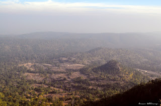 View from Bandhavgarh fort