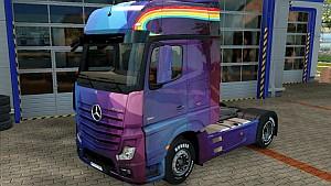 Mercedes MP4 Spectrum skin