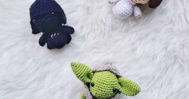 Amigurumi Star Wars : Amigurumi star wars pattern collection little things ged