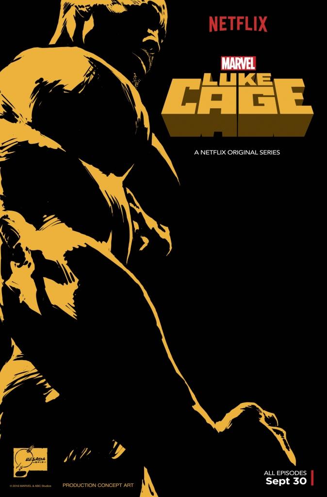 Primer póster oficial de la serie de Netflix 'Luke Cage'